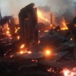 Breaking: INEC Office Set Ablaze In Abia