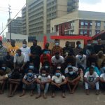 Breaking News! EFCC Arrests 52 Suspected Internet Fraudsters In Benin (Photos)