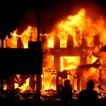 RCCG Church Auditorium Guts Fire In Lagos (Video)